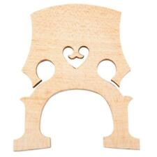 4/4 Double Bridge Maple Bass Bridge Wood Upright Bridge for Acoustic Bass