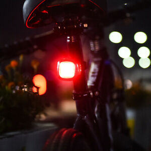 Bicycle SUPER BRIGHT USB Rechargeable Bike TAIL Light Cycling Waterproof LED
