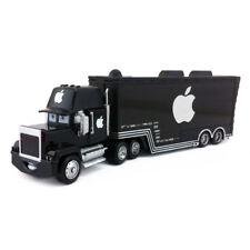 Disney Pixar Car Mack Black Apple Racer's Hauler Truck 1:55 Loose New In Stock