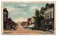 Early 1900s Clay Avenue looking West, Jeannette, PA Postcard