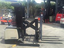 CROWN WALKIE REACH TRUCK/ STACKER 4M lIFT $17999+GST Negotiable Sydney Stock