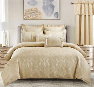 Luxury Egyptian Bed N Bag 8PC Sara Duvet Cover Set Plus Down Alternative Insert