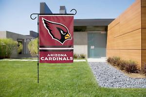 Arizona Cardinals Garden Flag 2 Sided Outdoor Window Yard Banner New