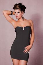 Vestido Sin Hombro Vestido Tubo Vestido De Cóctel Negro J16
