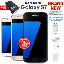 New Factory Unlocked SAMSUNG Galaxy S7 G930F Black White Gold 32GB Android Phone