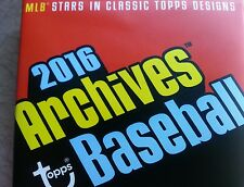 2016 Topps Archives U-Pick 10 to Complete your Set Bull Durham #1 Draft Picks