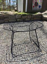 VTG Harry Bertoia Knoll Ottoman MCM stool Herman Miller Era Bird Diamond Chair 2