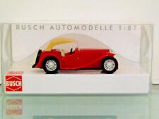Busch 45909 - H0 1:87 - MG Midget TC Cabriolet Closed,Red - New Original