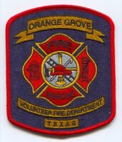 Orange Grove Volunteer Fire Rescue Department Patch Texas TX - SKU153