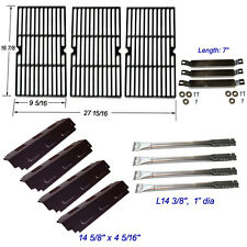 Charbroil 463420507,463420509 Burner,Carryover Tubes,Heat Plates,Grill Grates