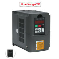 5.5KW 220V 7.6HP 25A Variable Frequency Drive VFD Huanyang Inverter CNC New