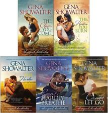 Gena Showalter ORIGINAL HEARTBREAKERS Romance Series Collection Set of Books 1-5