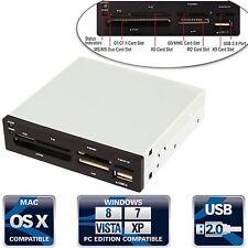 """Sabrent 74-In-1 3.5"""" Internal Flash Media Card Reader/writer w/ USB Port CR-USNT"""