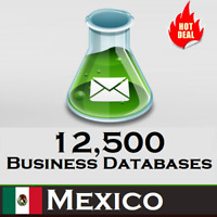 12,500 MEXICO Company Business Email Database 2020