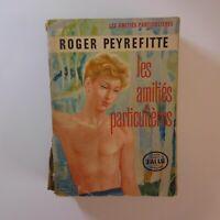 Roger PEYREFITTE 1957 les amitiés particulières littérature roman France N6897