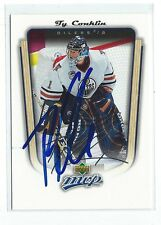 Ty Conklin Signed 2005/06 Upper Deck MVP Card #152
