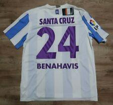 Malaga Jersey Shirt #24 Santa Cruz 100% Original Men's L 2015/2016 Home NEW