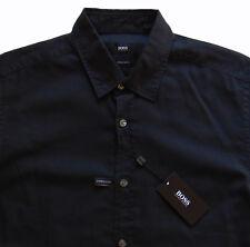 Men's HUGO BOSS Black Short Sleeve S/S LUKA Shirt Small S NWT NEW Elegant!
