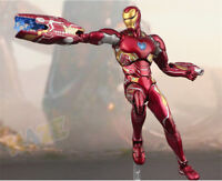 SHF S.H.Figuarts Marvel Avengers Infinity War Iron Man MK50 PVC Figure Toy Gift