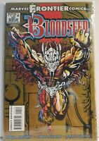 Marvel Frontier Comics Book - Bloodseed  #1 of 2 Oct 1993 - Rare Free Shipping