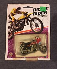 Vintage Zee Toy Ridge Rider Yamaha Seca Motorcycle Diecast