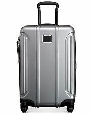 TUMI VAPOR LITE INTERNATIONAL Carry-On HARD Case  SILVER Spinner $475 028660 NEW