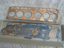 NOS PERKINS 6cyl 29.4 h.p Oil Engine P6 1947 OVERHAUL GASKET SET BEDFORD # GS49