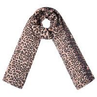 New Fabulous  Fashion Brown Leopard Print Long  Soft Scarf
