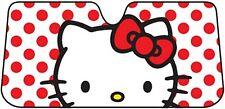 Hello Kitty Dots Windshield Car Sun Shade Accordion Sunshade NEW IN PACKAGE!