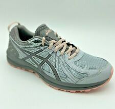 ASICS Women's Frequent Trail Casual Running Shoes Mid Grey/Carbon  USA Size 9.5