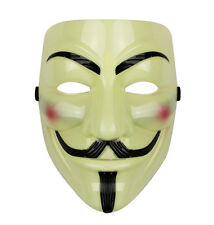 V FOR VENDETTA Mask Guy Fawkes Anonymous Halloween Cosplay Party Masks Costume