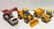 3 pcs JOAL 1/50 PPM 530 Mobile Crane, 1/35 JCB 712, JCB 435