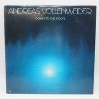 Vintage Andreas Vollenweider Down To The Moon Record Vinyl LP Album