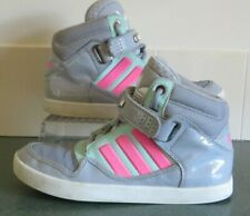 ADIDAS ORIGINALS AR 2.0 HIGH TOP TRAINERS IN GREY/MINT/PINK Size UK 4 (G22484)
