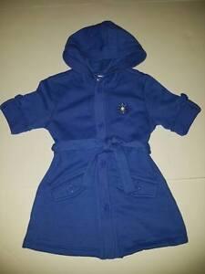 NWT Gymboree Flower Showers Cardigan Jacket Hoodie Blue S 5-6