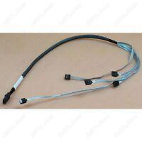 New HP Amphenol MiniSAS SFF-8087 to 4xSATA Cable 2Ft 580751-001 US-SameDayShip