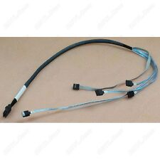 NewGenuine HP Amphenol MiniSAS SFF-8087 to 4xSATA Cable 2Ft 580751-001 US-Seller