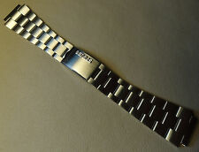 New Old Stock NOS Vintage Benrus Stainless Steel 18mm Trifold Clasp Watch Band