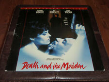 Death And The Maiden Laserdisc Widescreen LD