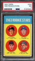 1963 TOPPS #544 CARMEL/HAAS/PHILLIPS/RUSTY STAUB PSA 7 (RC) 1963  *ADT4287