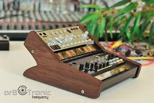 Korg Volca Duo Echtholz Ständer Halter Tier Rack Stand Bass Sample Beats Keys FM