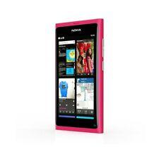 "Smartphone Nokia Lumia N9 Magenta Roses 16GB 3,9"" Amoled Meego Carl Zeiss"