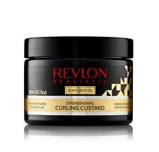 Revlon Realistic Black Seed Oil Strengthening Curling Custard 10.1oz