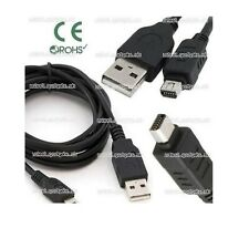 Mini 12-Pin Camera USB Data Sync Cable For Olympus D-630/X-940/C-5500/SP-590UZ