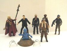 Lot of 7 DOCTOR WHO Loose Poseable Action Figures By Underground Toys