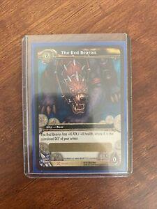World of Warcraft TCG: The Red Bearon MOUNT!+ Slashdance