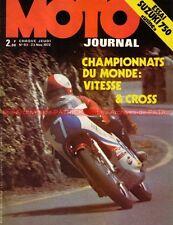 MOTO JOURNAL   93 Essai SUZUKI TR 750 Usine Voyage BMW Championnat du Monde 1972