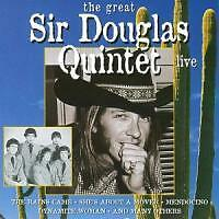 The Great Sir Douglas Quintet-Live von Sir Douglas Quintet (2011)