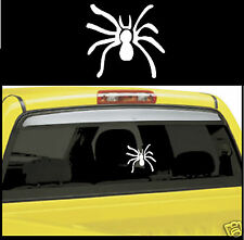 "1 - Spider Insect Decal / Sticker 4x4 Truck or Car Window Decal Size: 5""X5 1/4"""