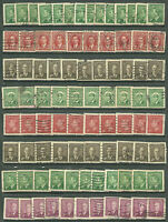 Canada King George VI 1¢, 2¢, 3¢, 4 Cent Stamps (used) collection of 84 mix